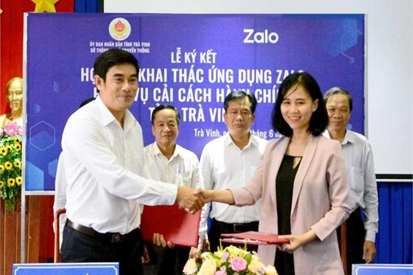 Người dân và doanh nghiệp ở Trà Vinh có thể tra cứu thông tin hồ sơ thủ tục hành chính qua Zalo