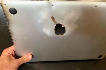 Chiếc MacBook Pro đầu tiên gặp sự cố cháy nổ, sau khi Apple thực hiện chương trình thu hồi
