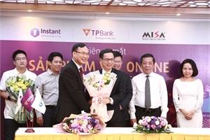 """Quyết dẫn đầu ngân hàng số, TPBank """"bắt tay"""" Fintech cho doanh nghiệp vay tiền online"""