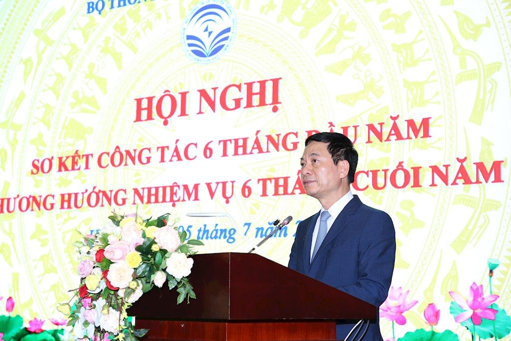 Bộ trưởng Nguyễn Mạnh Hùng: Việt Nam không đi theo sau nữa mà sẽ đi đầu trong một số lĩnh vực ICT