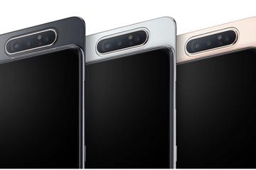 Galaxy A80, điện thoại đầu tiên của Samsung có camera trượt xoay ra mắt, giá 14,99 triệu đồng