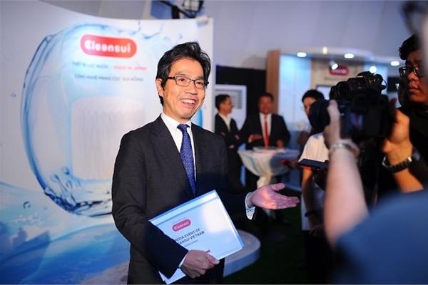 """Chủ tịch Mitsubishi Cleansui: """"Hãy để chúng tôi đồng hành bảo vệ sức khỏe gia đình việt"""