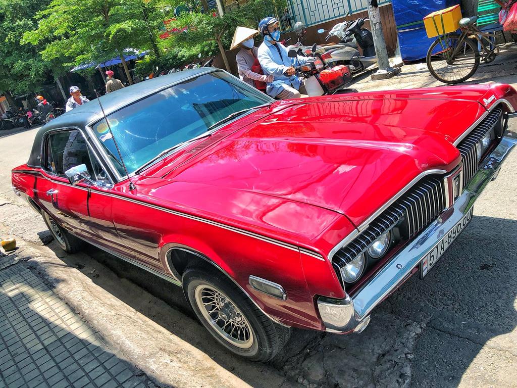 Rapper Viet tau xe co 'tien ty' Mercury Cougar 1968 hinh anh 2