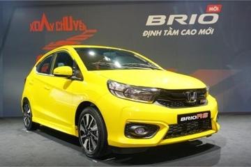 Honda Việt Nam bán gần 400 xe giá rẻ Honda Brio sau 2 tuần ra mắt