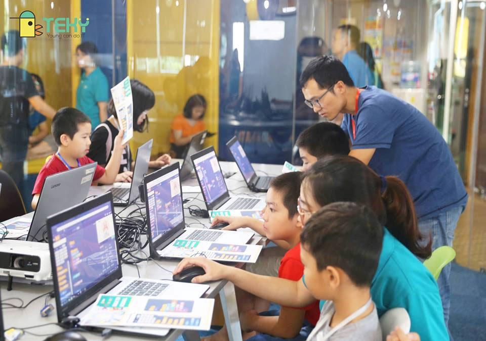 TEKY công bố chiến lược bao phủ thị trường đào tạo công nghệ trẻ em tại Việt Nam   Học viện sáng tạo công nghệ cho trẻ em TEKY sẽ có 20 cơ sở vào năm 2020   Chủ tịch TEKY: Thị trường đào tạo công nghệ cho trẻ em tại Việt Nam đang nóng lên từng ngày