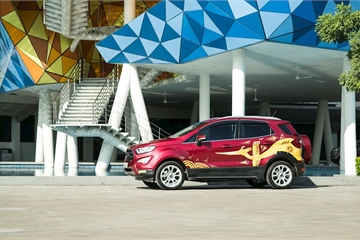 Ford Việt Nam trao giải cho cuộc thi sáng tạo dán đề can trên xe SUV Ford EcoSport