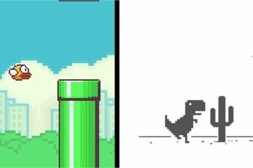 """Kỷ lục chơi Flappy Bird và """"khủng long Chrome"""" không ăn không ngủ, suốt 1 năm trời chưa toi mạng nào"""