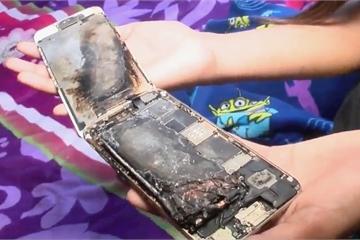 iPhone 6 bỗng dưng bốc cháy, nạn nhân là cô bé 11 tuổi, cho biết chỉ dùng iPhone để xem YouTube và chơi game