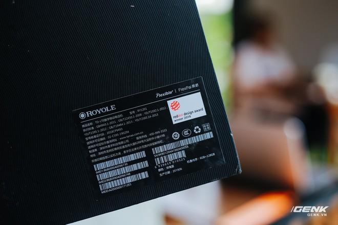Trên tay Royole FlexPai: Smartphone màn hình gập đầu tiên trên thế giới - Ảnh 2.
