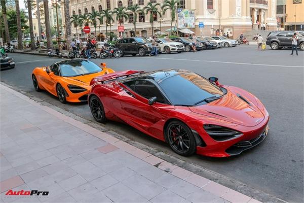 Cường 'Đô-la' lần đầu mang McLaren 720S mới tậu đi họp mặt cùng bạn bè