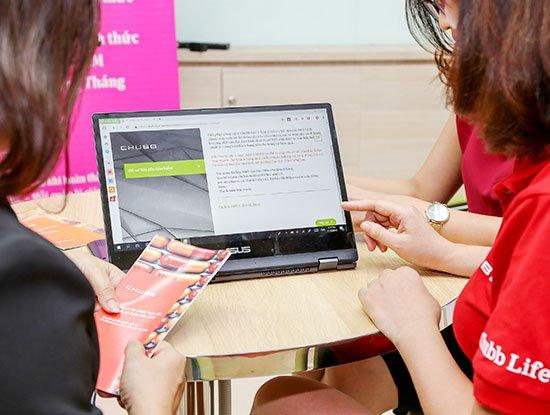 Chubb Life Việt Nam ra ứng dụng cho phép khách hàng lập hồ sơ yêu cầu bảo hiểm từ xa