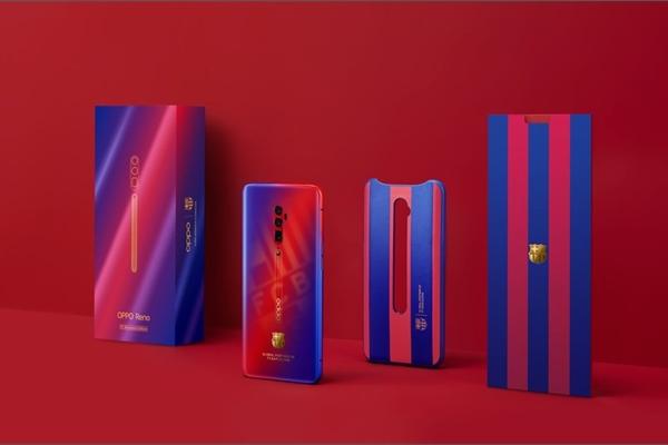 Oppo tiếp tục hợp tác với FC Barcelona và ra mắt Reno 10x Zoom phiên bản giới hạn FC Barcelona