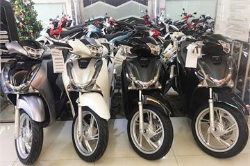 Doanh số bán xe máy của Honda Việt Nam giảm mạnh