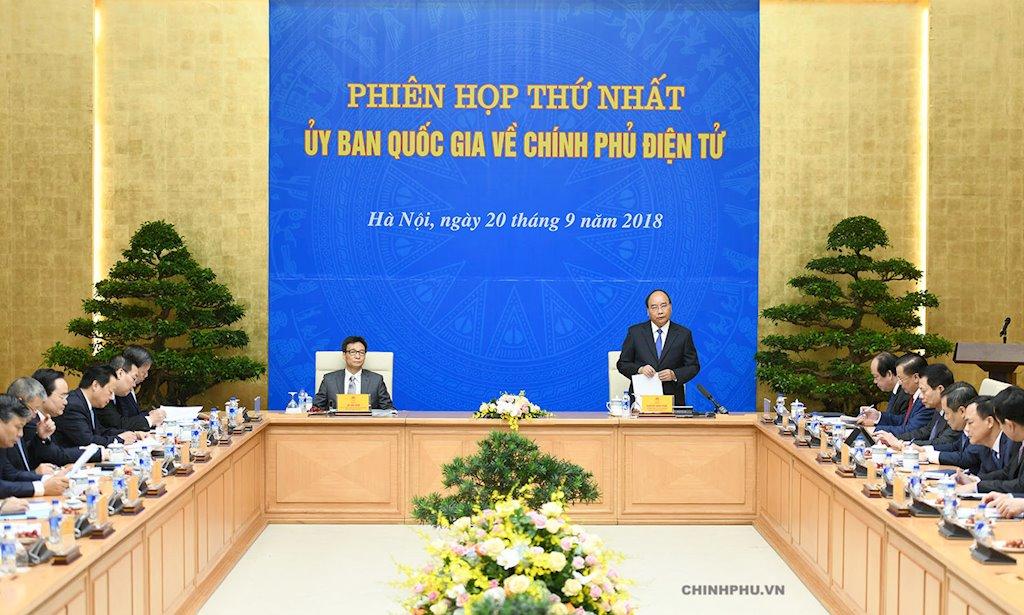 Ủy ban Quốc gia về Chính phủ điện tử sẽ họp phiên thứ hai vào sáng nay | Hôm nay, Ủy ban Quốc gia về Chính phủ điện tử họp phiên thứ hai