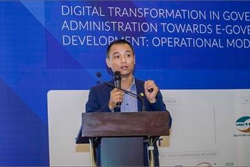 Sao Bắc Đẩu ra mắt giải pháp phát triển chính phủ điện tử eGOV