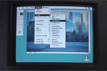 Hơn 20 năm trước, Photoshop 'tối cổ' như thế nào?