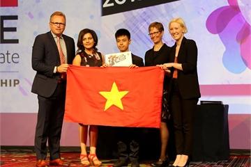 Học sinh Việt Nam giành giải thưởng cuộc thi Thiết kế đồ họa thế giới 2019