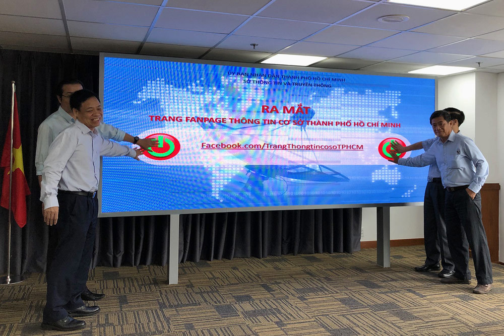 Sở TT&TT TP.HCM ra mắt Fanpage Thông tin cơ sở trên Facebook