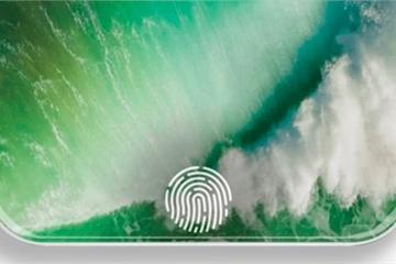 iPhone có cảm biến vân tay trong màn hình vào năm 2021