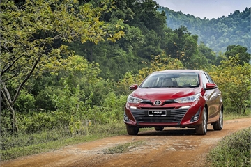 Toyota Vios tiếp tục giảm giá, lập đáy mới ở đại lý