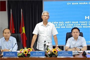 TP.HCM họp báo về kết quả thực hiện kết luận của Thanh tra Chính phủ tại Khu Công nghệ cao