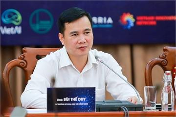 Thứ trưởng Bộ KHCN Bùi Thế Duy: Các doanh nghiệp phải xây dựng cơ chế chia sẻ dữ liệu để tránh lãng phí, khó bứt phá