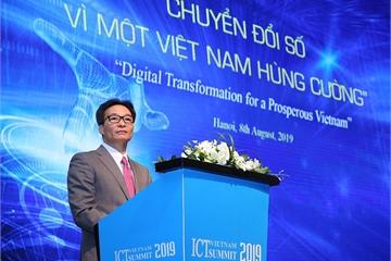 Phó Thủ tướng Vũ Đức Đam: Trong chuyển đổi số, Việt Nam phải sáng tạo, đột phá ra khỏi những tư duy, thói quen cũ