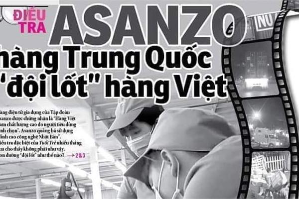 Báo Tuổi Trẻ phủ nhận cáo buộc của Asanzo