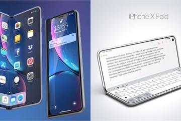 Apple đang phát triển công nghệ màn hình gập để ra mắt trên iPad vào năm 2020 và iPhone năm 2021
