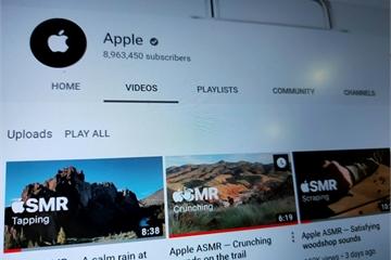 Apple đăng tải loạt video kỳ lạ