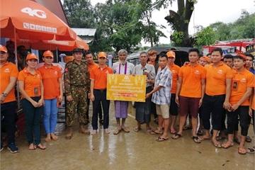 Mytel là mạng duy nhất vẫn đảm bảo liên lạc, hỗ trợ người dân Myanmar qua cơn đại hồng thủy