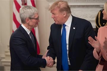 Tổng thống Trump thừa nhận mức thuế mới không công bằng với Apple