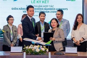 ZaloPay và Bamboo Airways hợp tác, khách có thể mua vé máy bay trên ZaloPay
