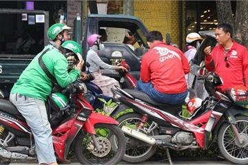 """Ứng dụng gọi xe """"so kè"""" con số: Go-Viet có 125.000 đối tác; Mygo hơn 100.000, riêng Grab khá """"kín tiếng"""" dù có nhiều đối tác nhất"""