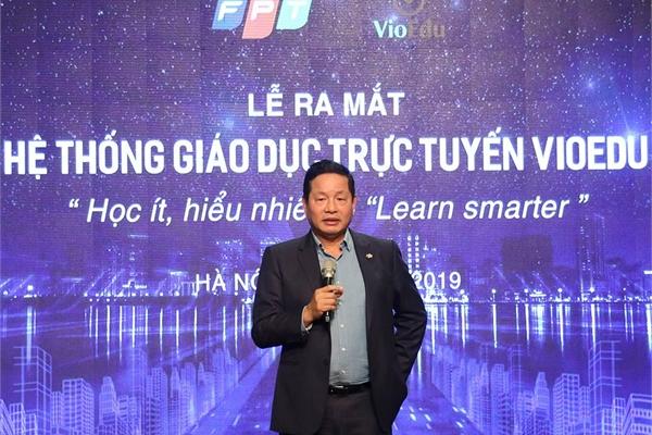 """Chủ tịch FPT Trương Gia Bình: """"Giáo dục là lĩnh vực đầu tiên Việt Nam cần tập trung trong cách mạng 4.0"""""""