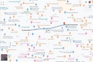 Những tuyến phố cổ đi bộ dịp lễ hội Trung thu 2019 qua Google Maps