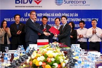 CMC sẽ điều phối kỹ thuật cho dự án Mua sắm, triển khai phần mềm hệ thống Tài trợ thương mại tại BIDV