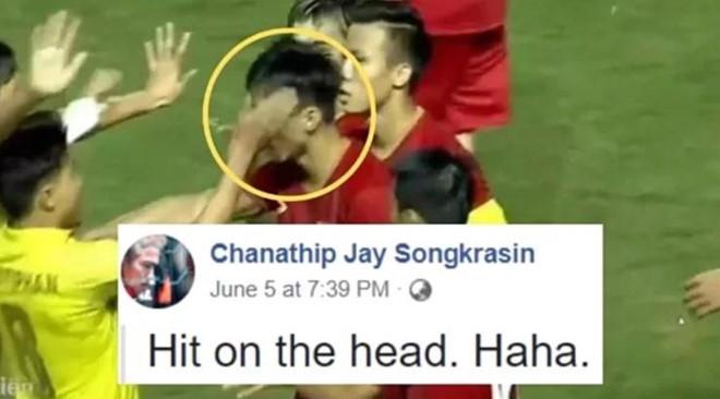 Fan Viet tran vao Facebook cau thu Thai Lan ca khia truoc tran hinh anh 2