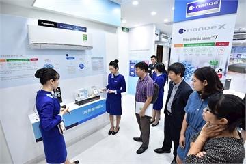 Bên trong khu trưng bày giải pháp không khí công nghệ cao đầu tiên của Panasonic tại Việt Nam