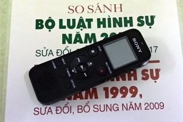Từ năm 2020, thực hiện ghi âm, ghi hình có âm thanh việc hỏi cung bị can trên phạm vi toàn quốc