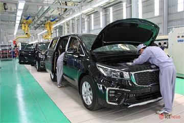Bên trong nhà máy Thaco Kia công suất 50.000 xe/năm