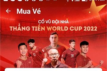 Lịch bán vé trận Việt Nam vs Malaysia vòng loại World Cup trên app VinID