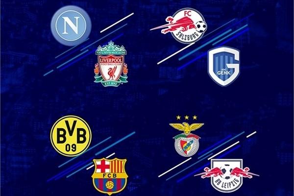 Lịch bóng đá Champions League đêm nay trên K+