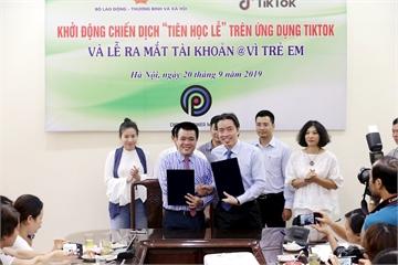 Cục Trẻ em mở tài khoản trên TikTok, tung chiến dịch bảo vệ trẻ trên môi trường mạng
