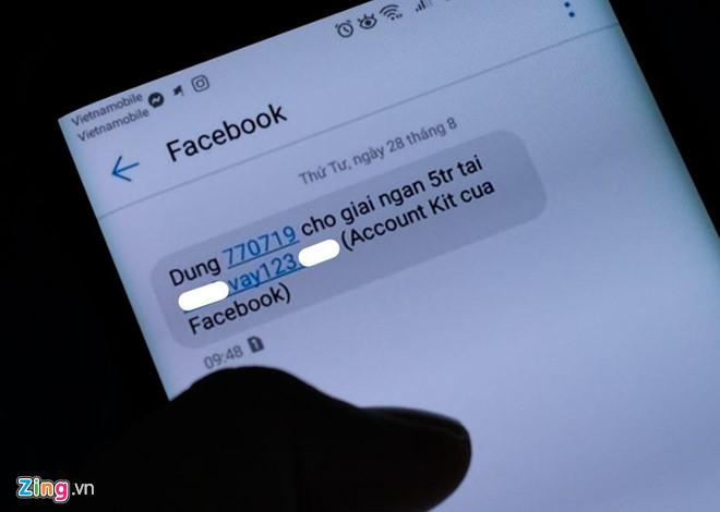 Bi chan OTP, nhieu nguoi dung khong vao duoc Facebook, Instagram hinh anh 1