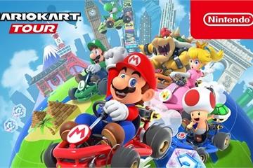Game bom tấn của tuổi thơ Mario Kart Tour chính thức có mặt trên di động