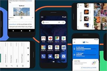 Google ra mắt Android 10 Go cho điện thoại giá rẻ