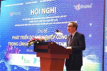 """""""Lâm Đồng có nhiều điều kiện xây dựng hệ sinh thái DN công nghệ trong nông nghiệp với các sản phẩm, giải pháp Make in Việt Nam"""""""
