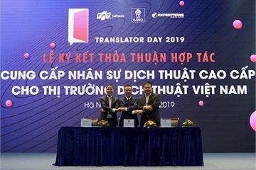 FPT Software trao tặng miễn phí nền tảng dịch thuật công nghệ AI tại Translator Day 2019