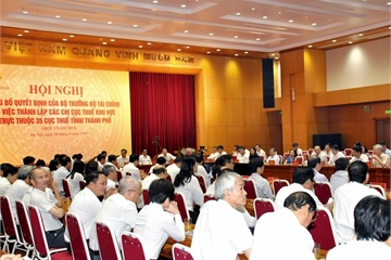 Bộ Tài chính hợp nhất 207 Chi cục Thuế, hoàn thiện quy hoạch mạng lưới các đơn vị sự nghiệp công lập ngành thuế